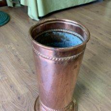 Antiquités: PARAGUERO EN COBRE.. Lote 226384600