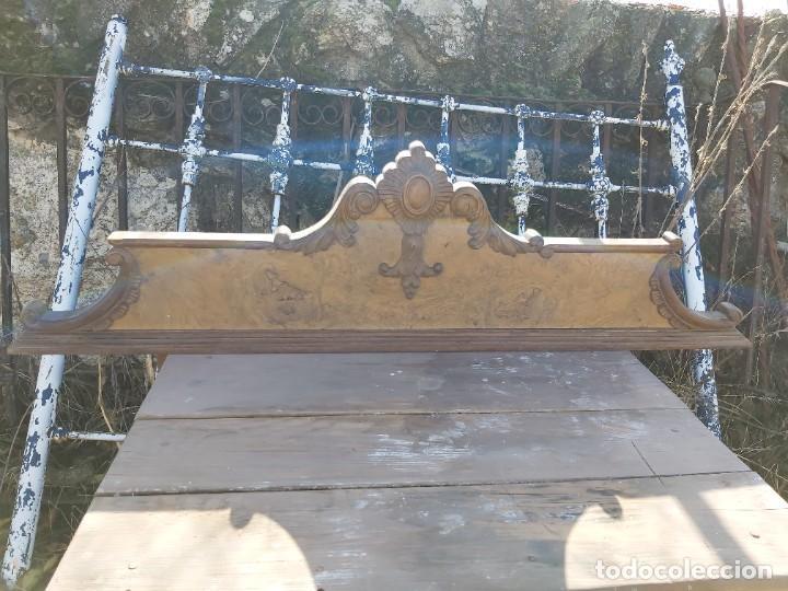 COPETE DE APARADOR EN MADERA DE RAIZ, EN BUEN ESTADO. (Antigüedades - Muebles Antiguos - Auxiliares Antiguos)