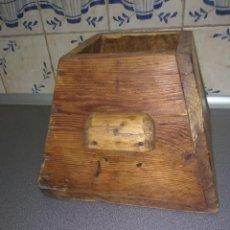 Oggetti Antichi: MEDIDA DE MADERA. Lote 226426865