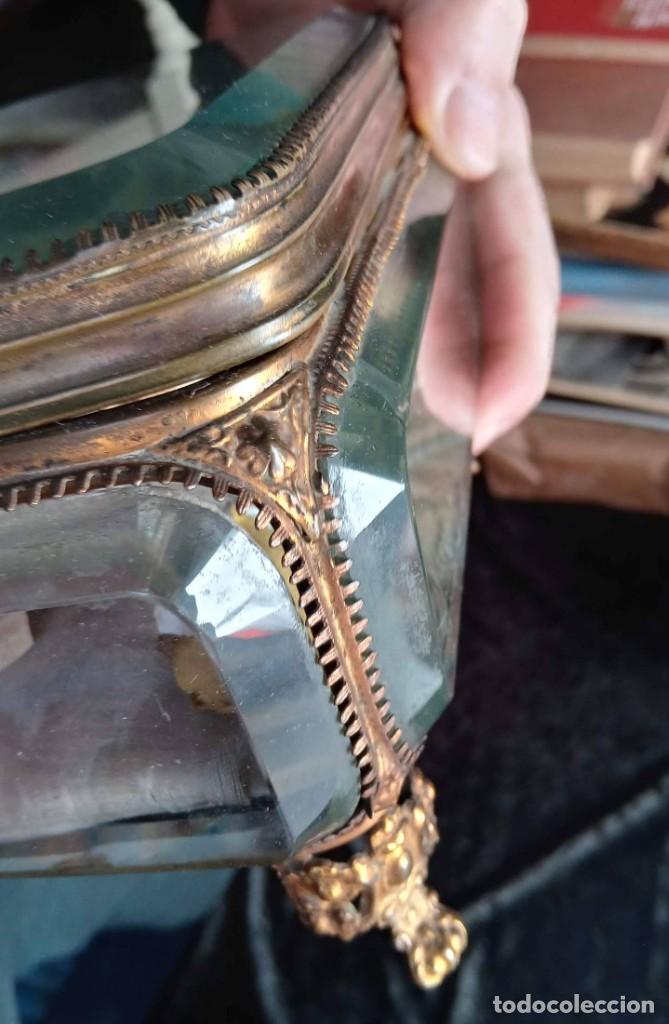 Antigüedades: RELICARIO - HUESO gran tamaño - SAN ISIDORO - LACRADO - EN PRECIOSA URNA - RELIQUIA - Foto 16 - 226454560