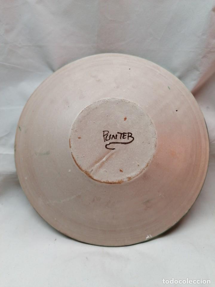 Antigüedades: Lote de tres platos de la firma Punter - Foto 3 - 226470205
