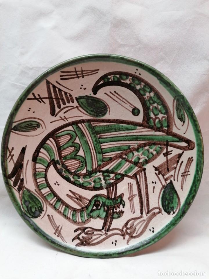 Antigüedades: Lote de tres platos de la firma Punter - Foto 4 - 226470205