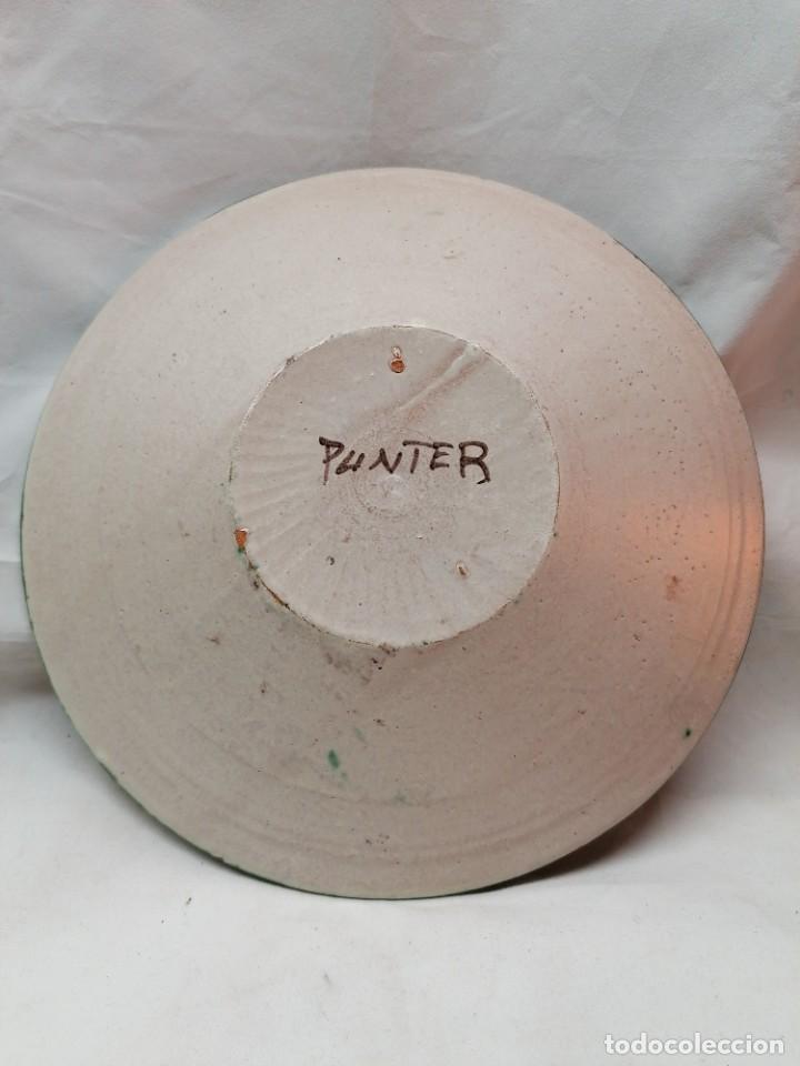 Antigüedades: Lote de tres platos de la firma Punter - Foto 5 - 226470205