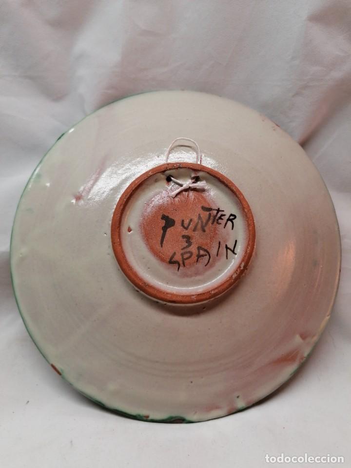 Antigüedades: Lote de tres platos de la firma Punter - Foto 7 - 226470205