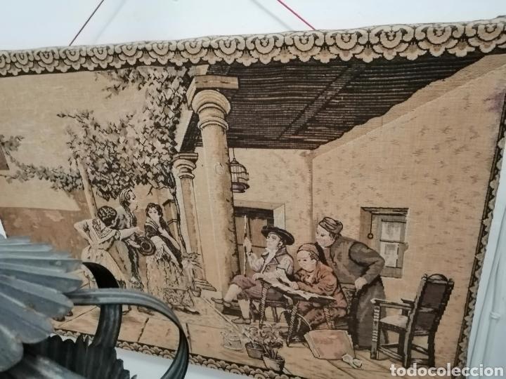 Antigüedades: TAPIZ ESCENA DE LA ÉPOCA CON PREMARCO - Foto 5 - 226480510