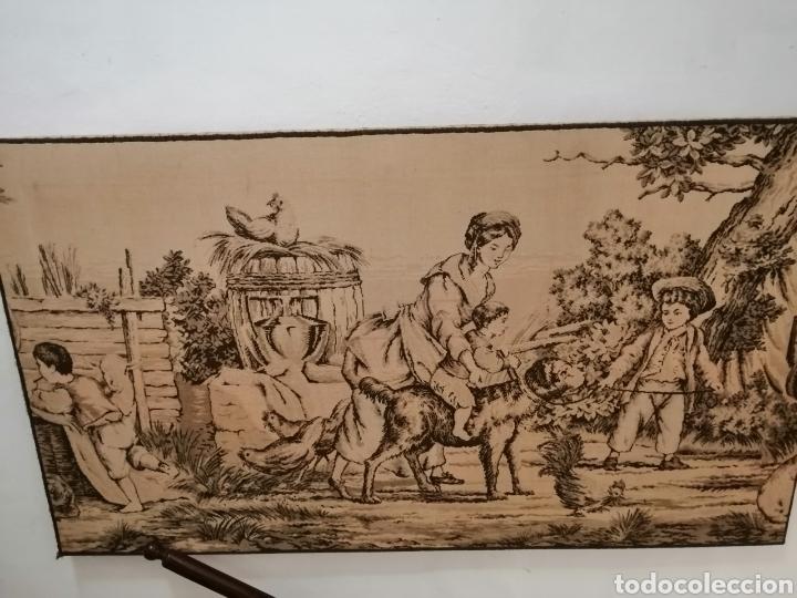 Antigüedades: TAPIZ ESCENA DE LA ÉPOCA CON PREMARCO - Foto 6 - 226480510