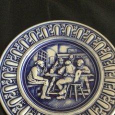 Antigüedades: PLATO DE CERÁMICA ALEMANA GERZ. Lote 226502730