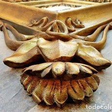 Antigüedades: IMPRESIONANTE Y GRAN ESPEJO MODERNISTA - MADERA - ESTUCO - PAN DE ORO - ALTA DECORACIÓN - NOUVEAU. Lote 226510760