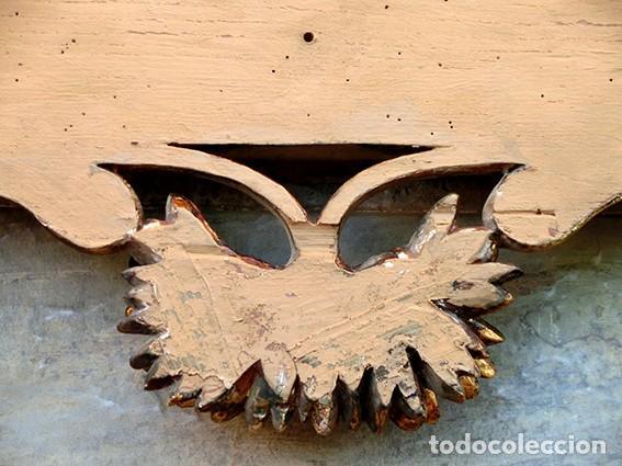 Antigüedades: IMPRESIONANTE Y GRAN ESPEJO MODERNISTA - MADERA - ESTUCO - PAN DE ORO - ALTA DECORACIÓN - NOUVEAU - Foto 17 - 226510760