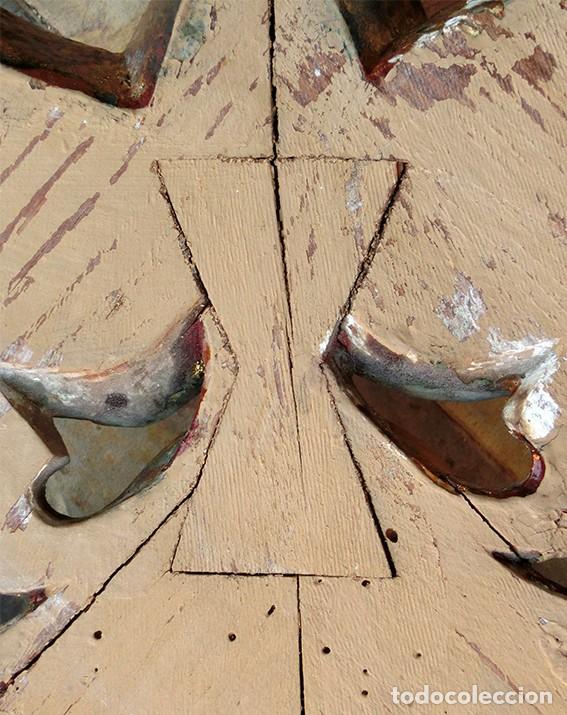 Antigüedades: IMPRESIONANTE Y GRAN ESPEJO MODERNISTA - MADERA - ESTUCO - PAN DE ORO - ALTA DECORACIÓN - NOUVEAU - Foto 21 - 226510760