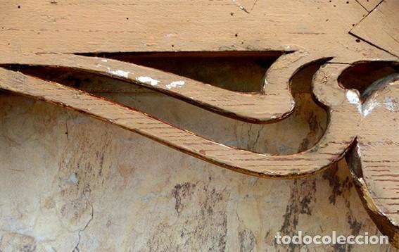 Antigüedades: IMPRESIONANTE Y GRAN ESPEJO MODERNISTA - MADERA - ESTUCO - PAN DE ORO - ALTA DECORACIÓN - NOUVEAU - Foto 23 - 226510760