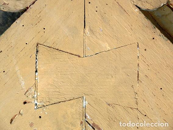 Antigüedades: IMPRESIONANTE Y GRAN ESPEJO MODERNISTA - MADERA - ESTUCO - PAN DE ORO - ALTA DECORACIÓN - NOUVEAU - Foto 25 - 226510760