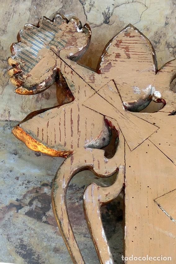 Antigüedades: IMPRESIONANTE Y GRAN ESPEJO MODERNISTA - MADERA - ESTUCO - PAN DE ORO - ALTA DECORACIÓN - NOUVEAU - Foto 27 - 226510760