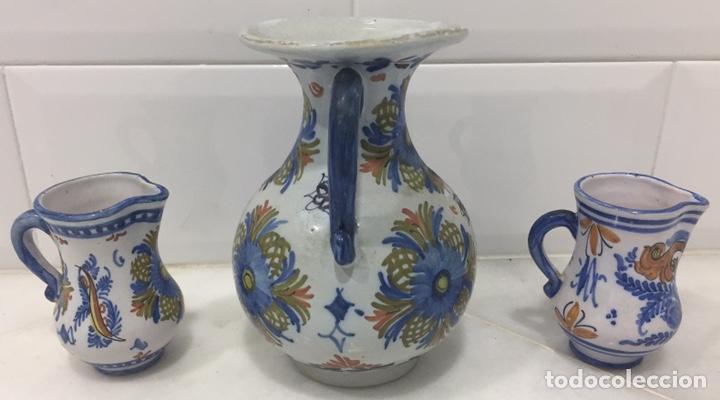Antigüedades: ANTIGUO LOTE JARRAS CERÁMICA GUERTES SEVILLA TRIANA - Foto 10 - 226573100
