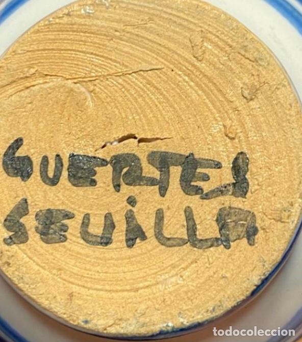 Antigüedades: ANTIGUO LOTE JARRAS CERÁMICA GUERTES SEVILLA TRIANA - Foto 16 - 226573100