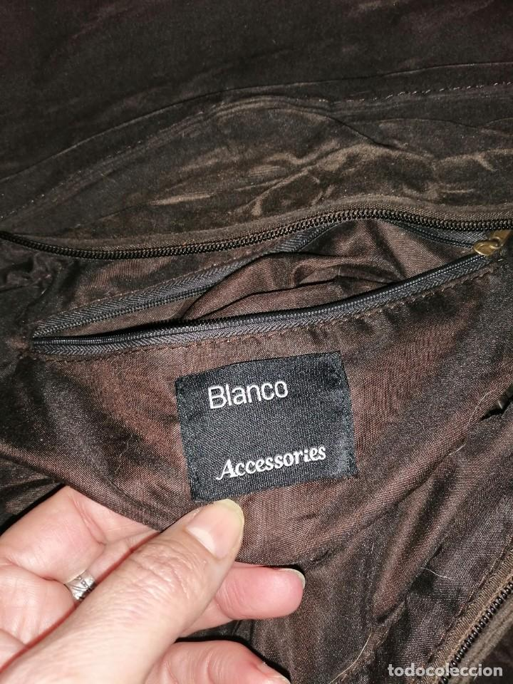 Antigüedades: Bolso maletín de antelina - Foto 8 - 226577650