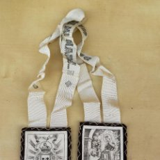 Antiquités: ESCAPULARIO TELA. Lote 226579190