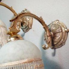 Antigüedades: PAREJA DE APLIQUES DE ILUMINACION-. Lote 226646410