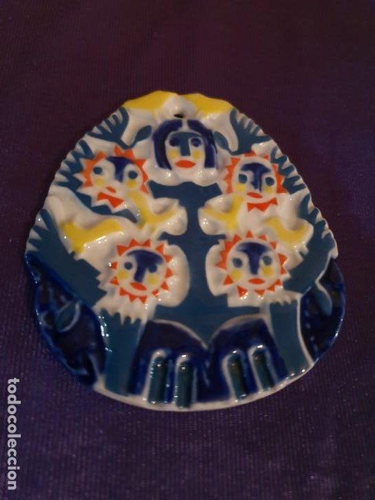 MEDALLA CERAMICA SARGADELOS (Antigüedades - Porcelanas y Cerámicas - Sargadelos)
