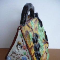 Antigüedades: BOTIJO-BARACA RECUERDO DE VALENCIA. Lote 226786850