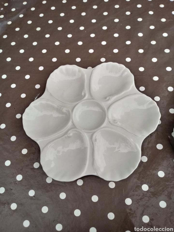 Antigüedades: platos de ostras de limoges - Foto 2 - 226800630