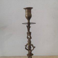 Antigüedades: CANDELABRO EN BRONCE. Lote 226802120