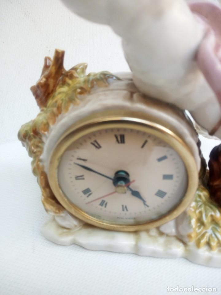 Antigüedades: Reloj Algora - Foto 2 - 226803254