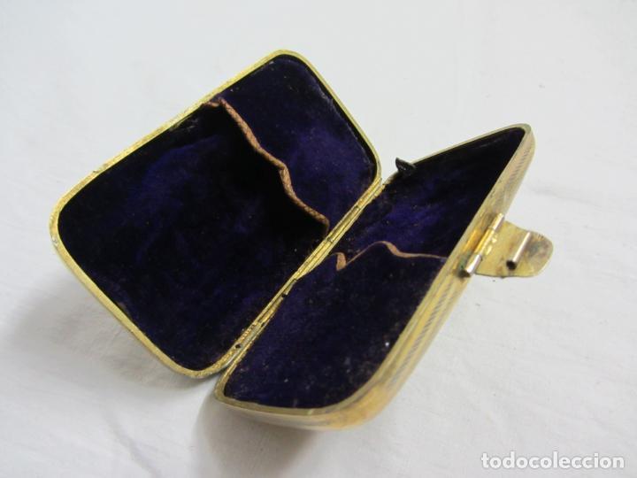 Antigüedades: Caja en plata de ley del siglos XIX-XX - Foto 2 - 226805965