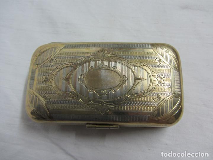 Antigüedades: Caja en plata de ley del siglos XIX-XX - Foto 4 - 226805965