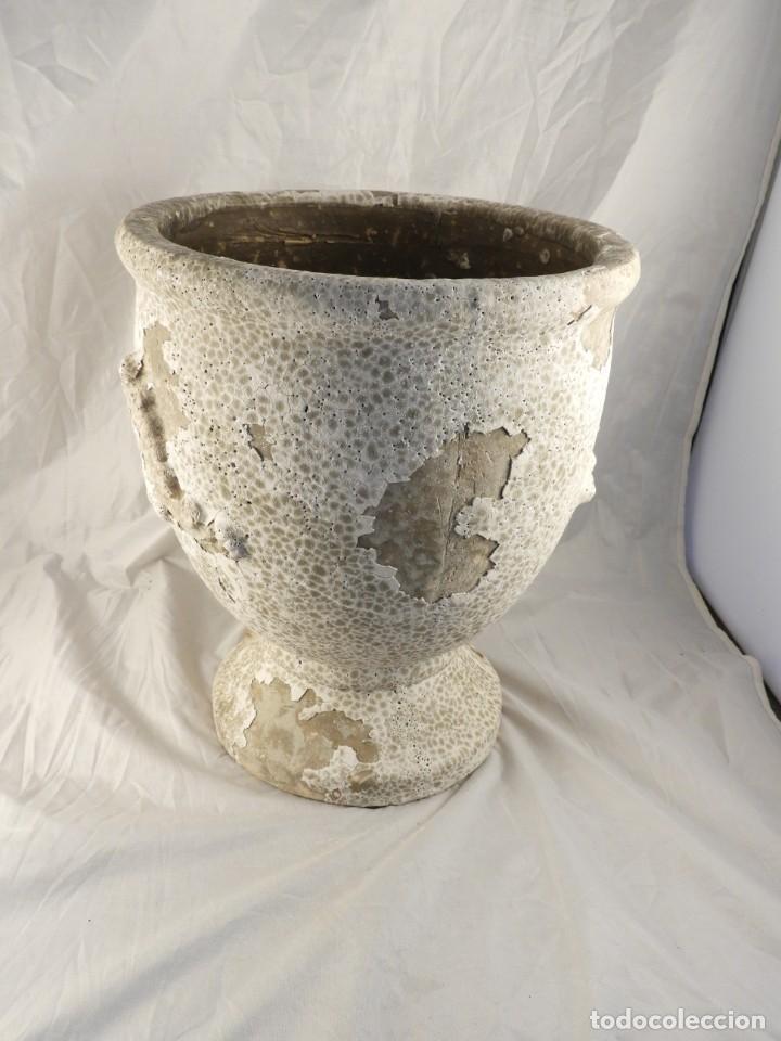 Antigüedades: MACETERO DE TERRACOTA Tengo pareja - Foto 5 - 226816585