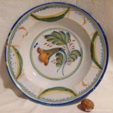 Antigüedades: PLAT, CERÀMICA S. XIX, RIBESALBES. Lote 226862965
