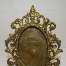 Antigüedades: MARCO PARA FOTO PORTARRETRATO BRONCE S XIX. Lote 226882075