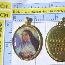 Antiguidades: MEDALLA MEDALLITA RELIGIOSA. SANTA RITA. Lote 226929305