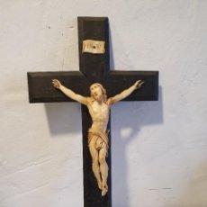 Antigüedades: CRUCIFIJO DE MARFIL. Lote 226959200