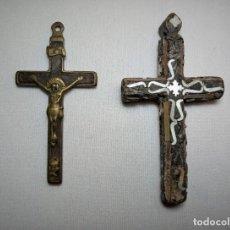 Antigüedades: INTERESANTE PAREJA DE CUCES. Lote 226972435