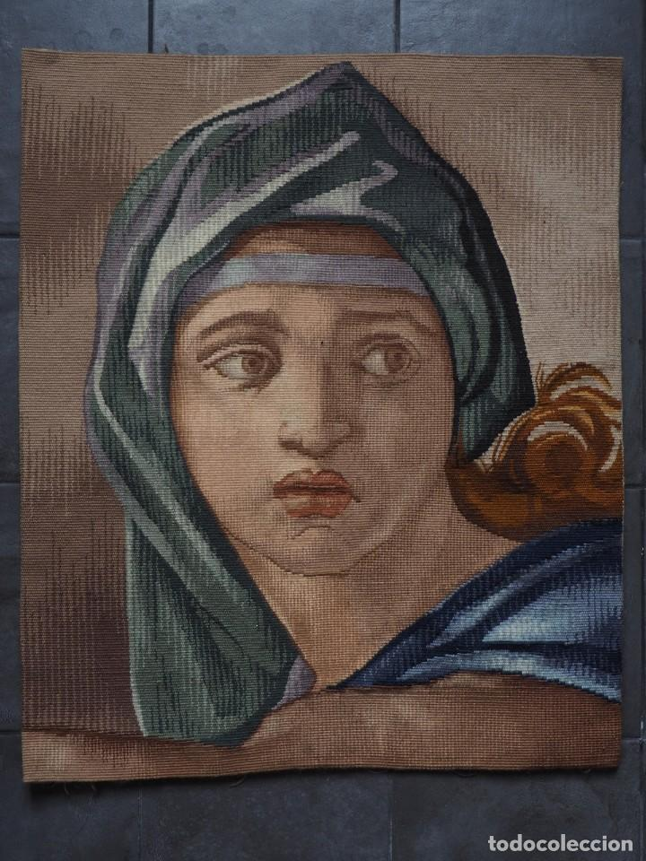 Antigüedades: Tapiz Frances Obra Maestra (de Gremio), Prueba de Maestro, Manufacture des Gobelins - Foto 2 - 227009790