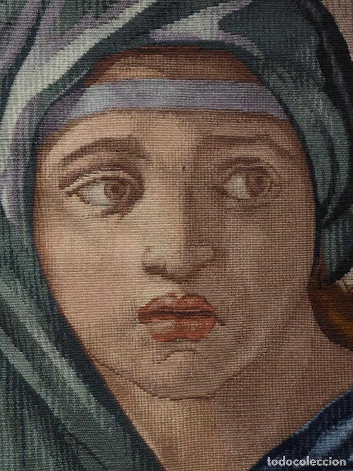 Antigüedades: Tapiz Frances Obra Maestra (de Gremio), Prueba de Maestro, Manufacture des Gobelins - Foto 3 - 227009790