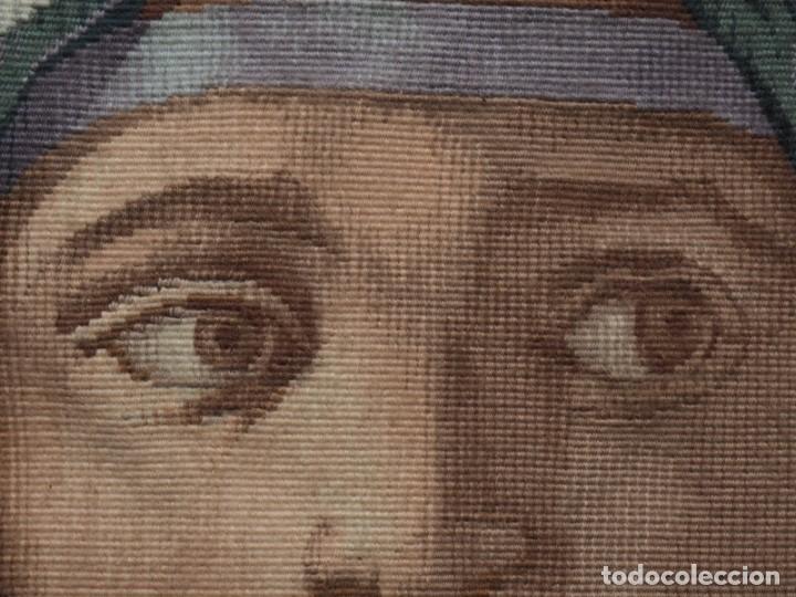 Antigüedades: Tapiz Frances Obra Maestra (de Gremio), Prueba de Maestro, Manufacture des Gobelins - Foto 5 - 227009790