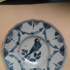 Antigüedades: PLATO DE CERAMICA CATALANA. Lote 227010475