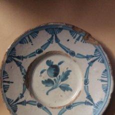 Antigüedades: PLATO DE CERAMICA CATALANA. Lote 227018795