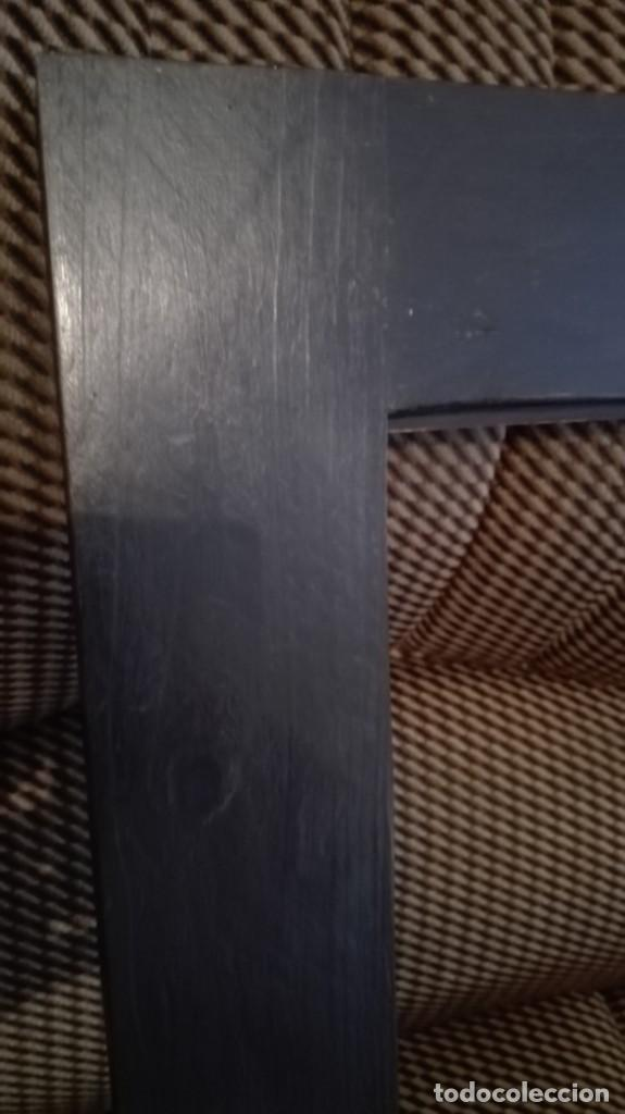 Antigüedades: Marco de madera negro y dorado - Foto 8 - 227024320