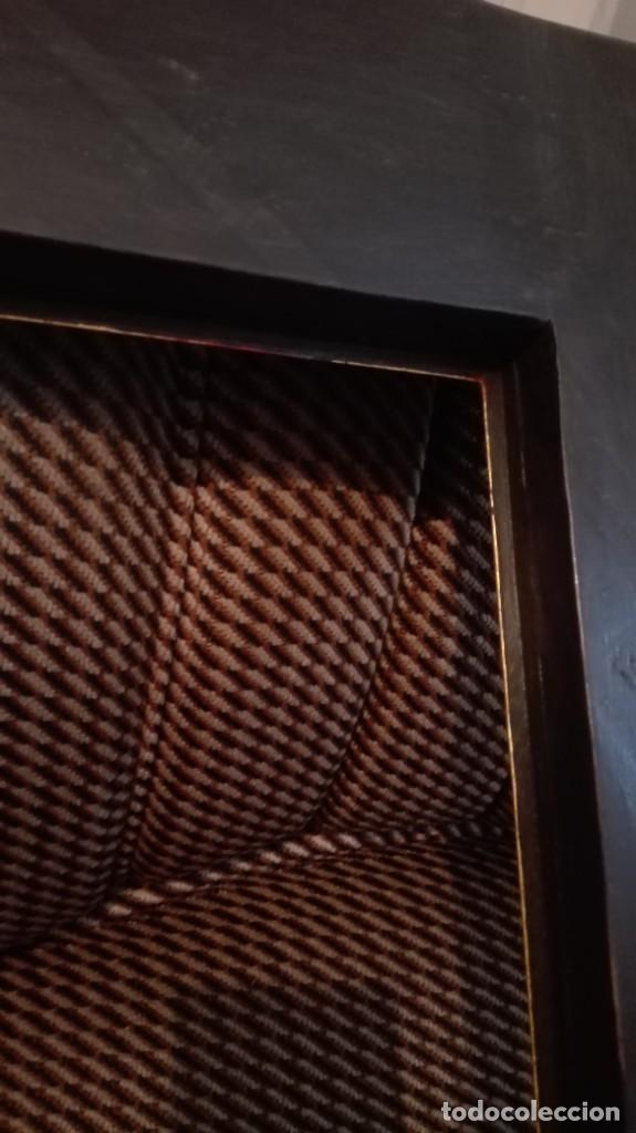 Antigüedades: Marco de madera negro y dorado - Foto 9 - 227024320