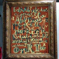 Antigüedades: BONITO Y ANTIGUO MARCO, MADERA TALLADA, 70 X 82 CM, VER FOTOS.W. Lote 227024630