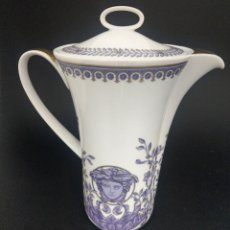 Antigüedades: CAFETERA DE VERSACE LE GRAND DIVERTISSEMENT-NUEVO. Lote 227051860
