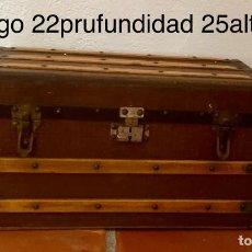 Antigüedades: BAÚL ANTIK. Lote 227054422