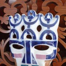 Oggetti Antichi: CARETA DE SARGADELOS, DE 19,50 X 13,50 CMS. MASCARA. VER FOTOS. Lote 227079665