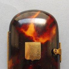 Antigüedades: ANTIGUO MONEDERO DE CAREY S.XIX. Lote 227158005