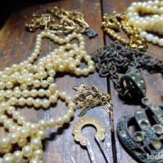 Antigüedades: LOTE DE VISUTERÍA ANTIGUA. VARIOS COMPLEMENTOS. W. Lote 227167107