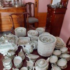 Antigüedades: VAJILLA COMPLETA SAN CLAUDIO MOD. KANTONG. Lote 227173420