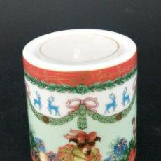 Antigüedades: LUZ MESA PEQ-VERSACE MERRY CHRISTMAS- AÑO 2011-NUEVO. Lote 227187730